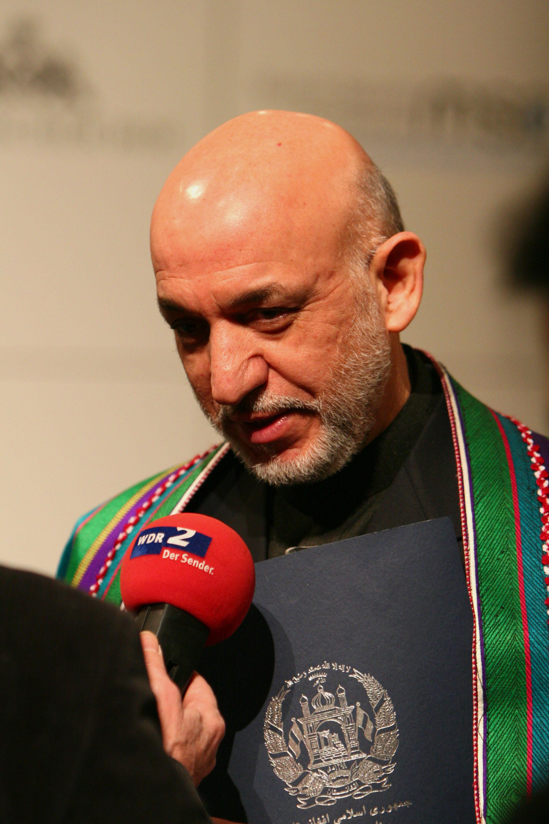 Afghanistan, Präsident  | Bild (Ausschnitt): © Harald Dettenborn - Wikimedia Commons