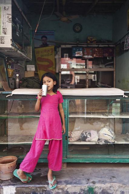 Ein Mädchen in Bangladesch Ein Mädchen in Bangladesch | Bild (Ausschnitt): ©  Naquib Hossain [CC BY-SA 2.0]  - flickr